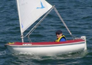 Cadeyrn Gaskin - Victoria's Top Access 2.3 Sailor in 2008