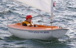 Mark Thorpe sailed with servo helm control