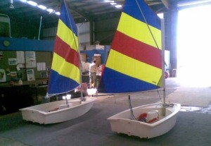 Two new Optimist dinghies for Docklands Yacht Club