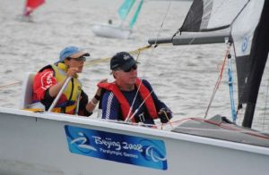 Krista Bailey & Russell Phillips competed in the SKUD 18 at the Kiwi Cup and NZ Access Nationals
