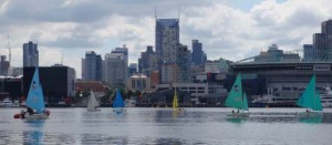 Learning to sail on Victoria Harbour - Docklands Yacht Club