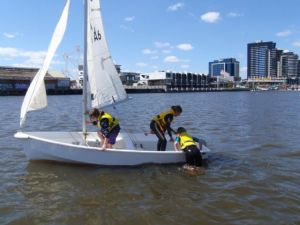 Girls recovering after capsize