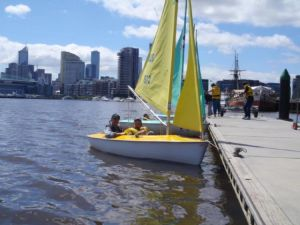 David House participants sailing at DYC