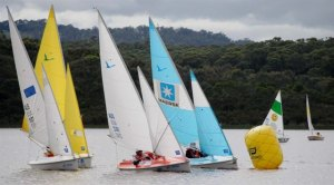 Docklands sailors at the 2012 Victorian Access Class Championships