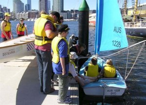 Docklands Rotary Try Sailing Day - April 15, 2012