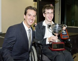 Mark Thorpe - Victorian Sailor of the Year with a Disability