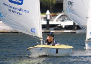 Sally Wilkkinson - Short Course Racing at Docklands Yacht Club, February 2013