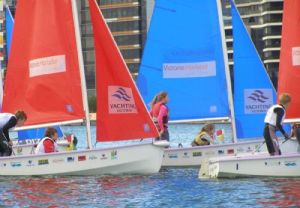 Finals of the Victoria Harbour School Sailing Series