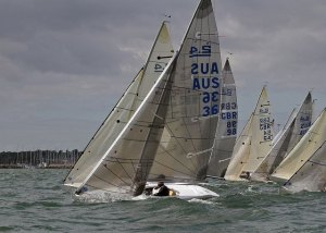 Neil Paterson (AUS036) at the IFDS World Championships in Kinsale