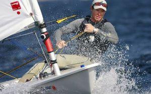 Tom Slingsby at 2009 Laser World Championship
