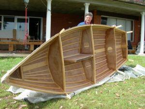 Steve Schmidt's Boat - hull complete