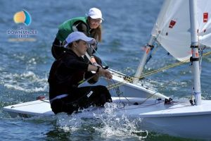TYC's Emma Barton at Sail Downunder