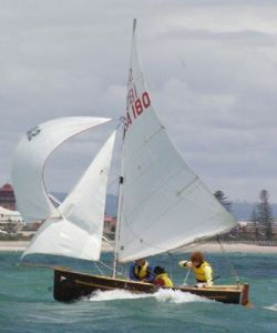 12ft Cadet at LBSC