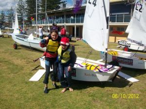 Open Day 2012, Youth sailors
