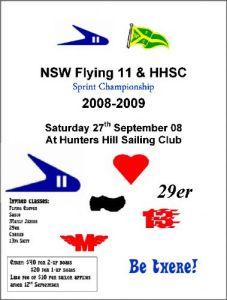 HH Sprints Flyer 2008