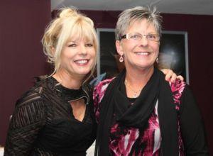 MYC prizegiving 2009-10, Del Morrison and Sue Baines