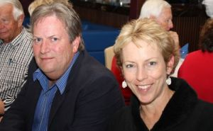 MYC Prizegiving 2009-10, Mr & Mrs Gourlay