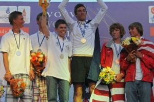 Victorian Chase Lurati wins Gold at ISAF Youth Worlds