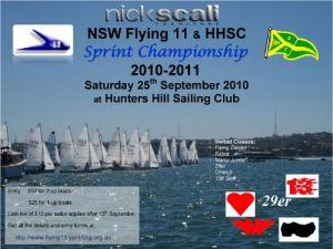 2010 Nick Scali Sprints Flyer