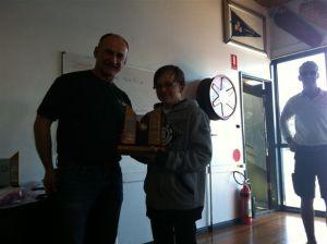 2012 Sprints F11 'Handicap' Winner - 1398