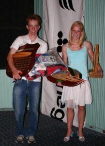 Andrew and Alison Chapman - 2006 F11 Australian Champions _6039
