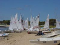Everyone enjoys good sailing conditions and a great regatta