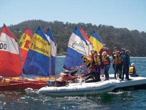 Sailing School Pontoon Photo