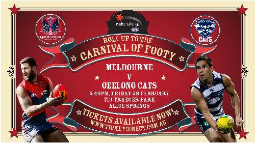 Nab Challenge Melbourne V Geelong Cats Central