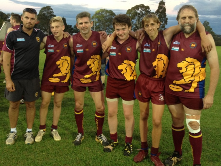 division 2 and rule afl downs