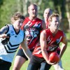 Dangerous Sawtell/Toormina forward Trent Mitchell finds some space. Photo: Rob Wright/Coffs Coast Advocate