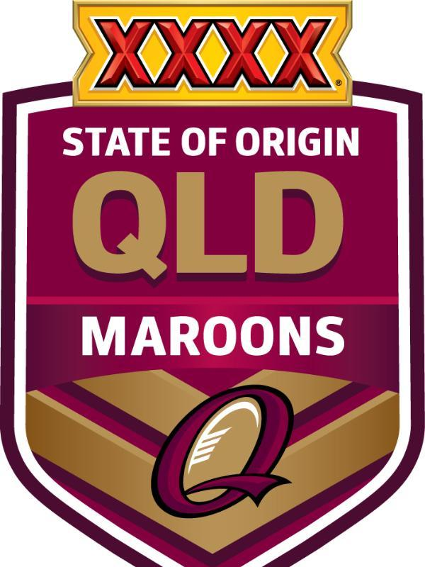 Xxxx Queensland Maroons Game 2 Squad Nrl Game