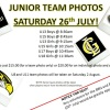 Junior Team Photos
