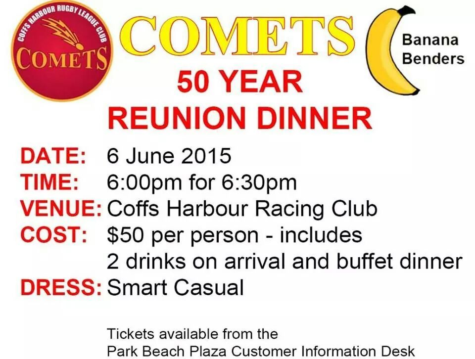 Comets 50 Year Reunion