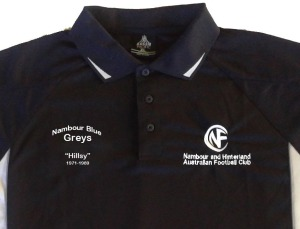 Blue Grey's Support polo