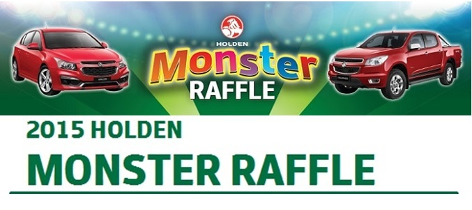 2015 Holden Monster Raffle - Touch Football ACT - SportsTG