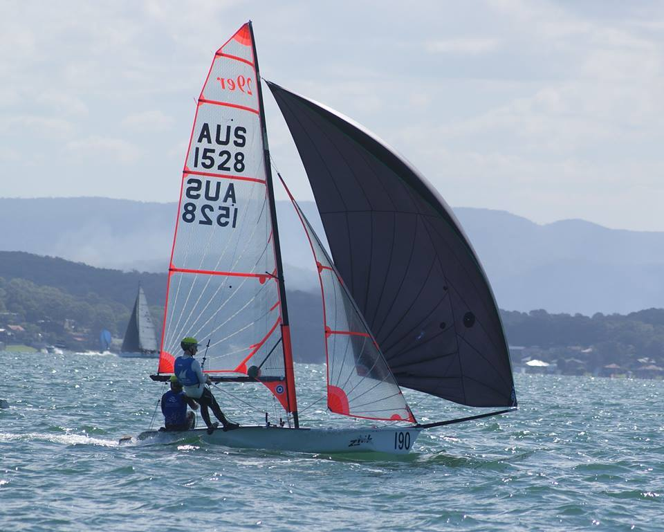 29er Aus 1528 Belmont 16 Ft Sailing Club Sportstg