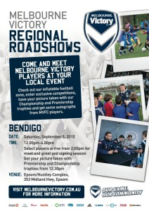 Melbourne Victory Road show poster