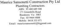 Maurice Sansonetti Construction Pty Ltd