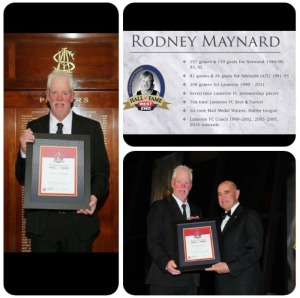 Conratulations Rodney Maynard Hall of Fame Member