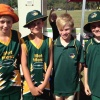 Toby,Zack, Jasper and James at State carnival