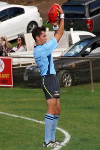 Boundary Umpire Corey Malcolm