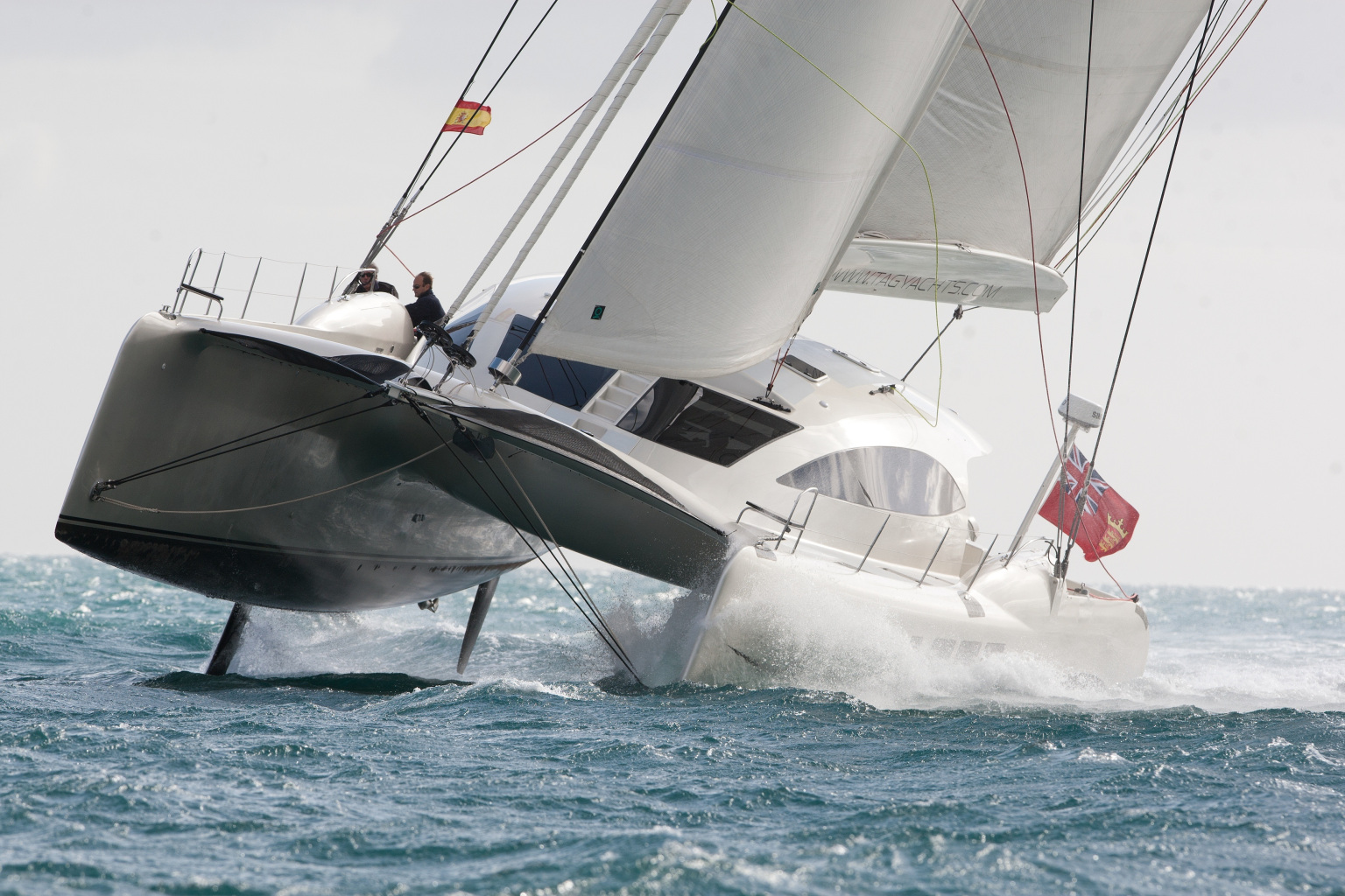 Tropical Island Yacht Record Entries And More Exciting Sailing For Audi Hamilton