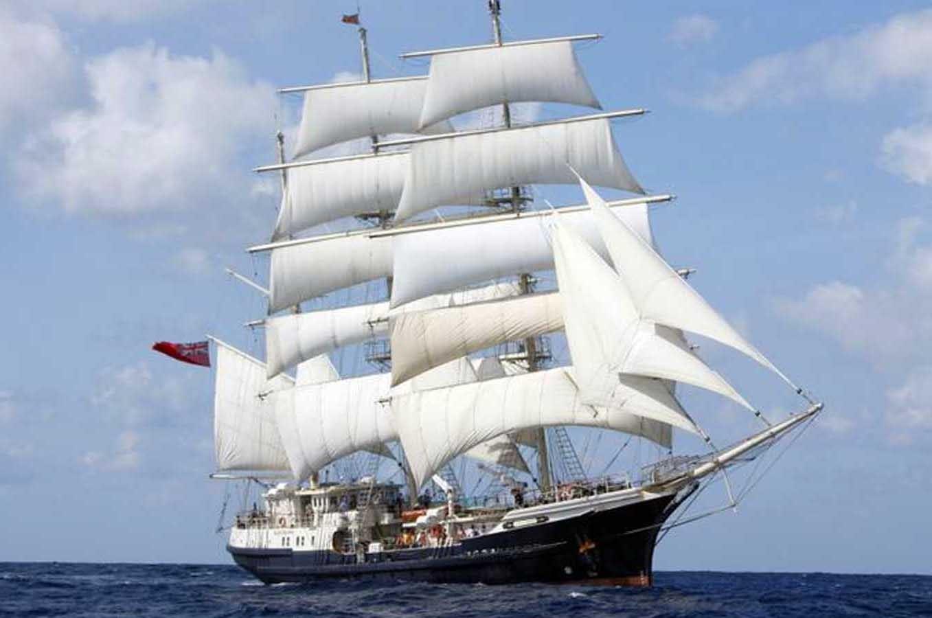 tall ship tenacious visits williamstown royal yacht club of