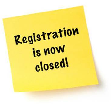 Image result for registrations closed