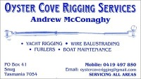 Oyster cove rigging