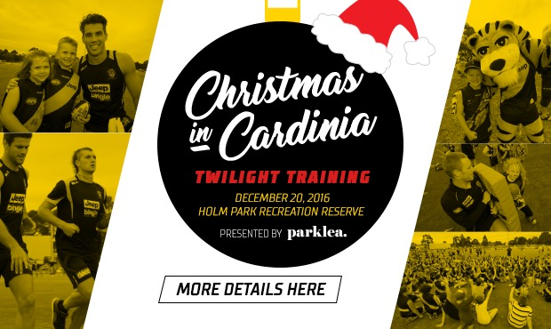 Christmas in Cardinia - Richmond FC Training Session - South East