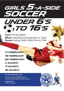 BASL Girls 5-a-side Feb/Mar 2017
