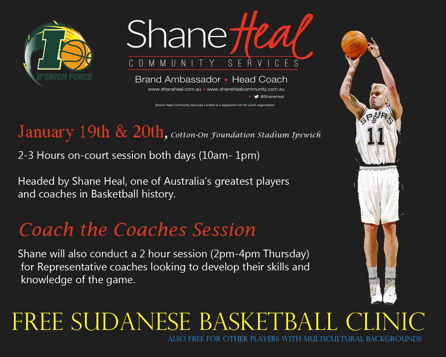 free sudanese basketball clinic coach the coaches session