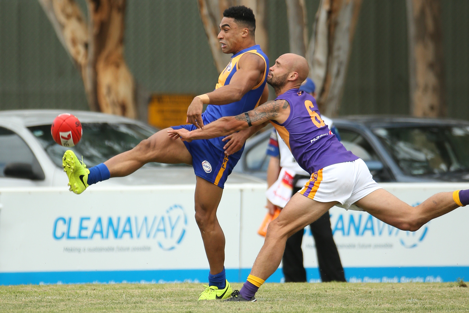 2bd5117303f LIONS PREVAIL IN EXCITING ROUND 1 FINISH - Western Region Football League -  SportsTG