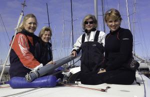 Etchellente owners (l-r) Karen Johns, Kathy De Garis, Helen Morris, Margie Rowe Findlay _photo courtesy John Curnow